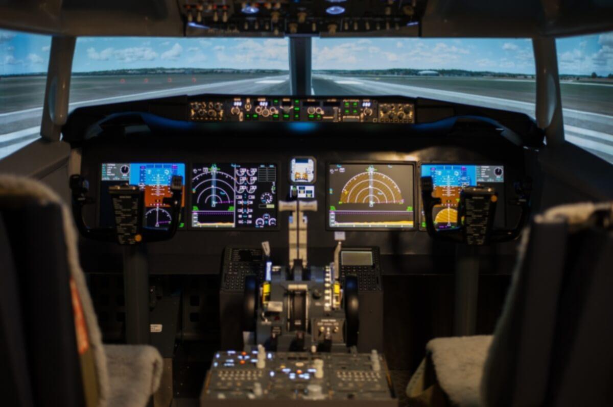 Boeing 737MAX simulator